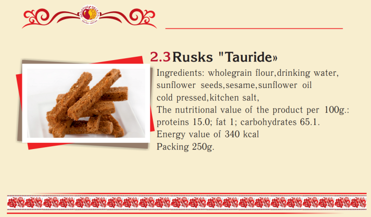 2.3 - Rusks - Tauride